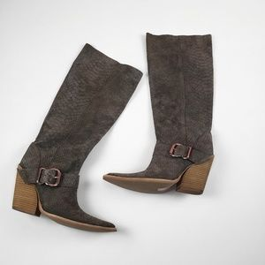 Jeffrey Campbell Green Reed Slouch Boot